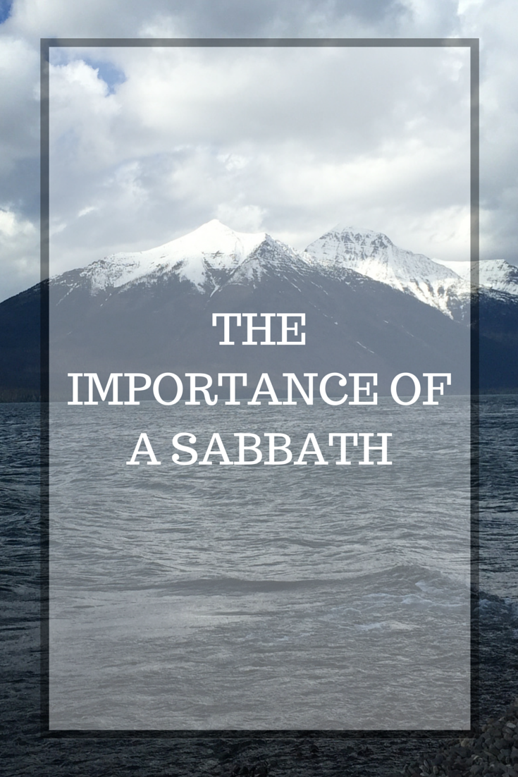 THE IMPORTANCE OFA SABBATH (1)