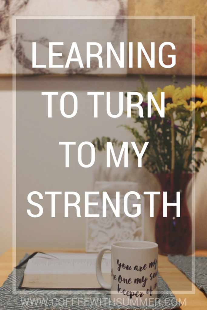 Learning To Turn To My Strength | Coffee With Summer