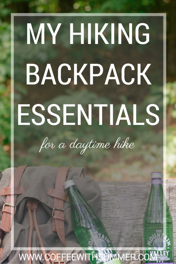 My Hiking Backpack Essentials | Coffee With Summer