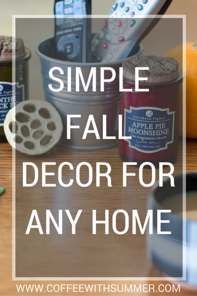 Simple Fall Decor For Any Home | Coffee With Summer