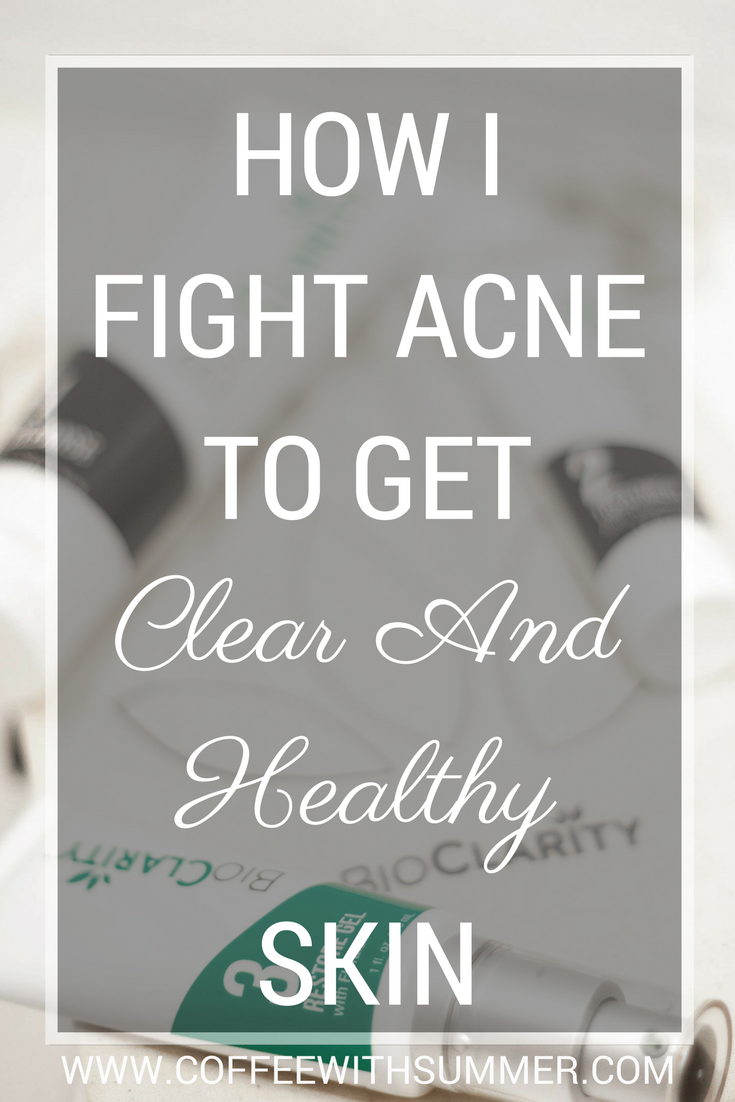 How I Fight Acne To Get Clear & Healthy Skin | Coffee With Summer