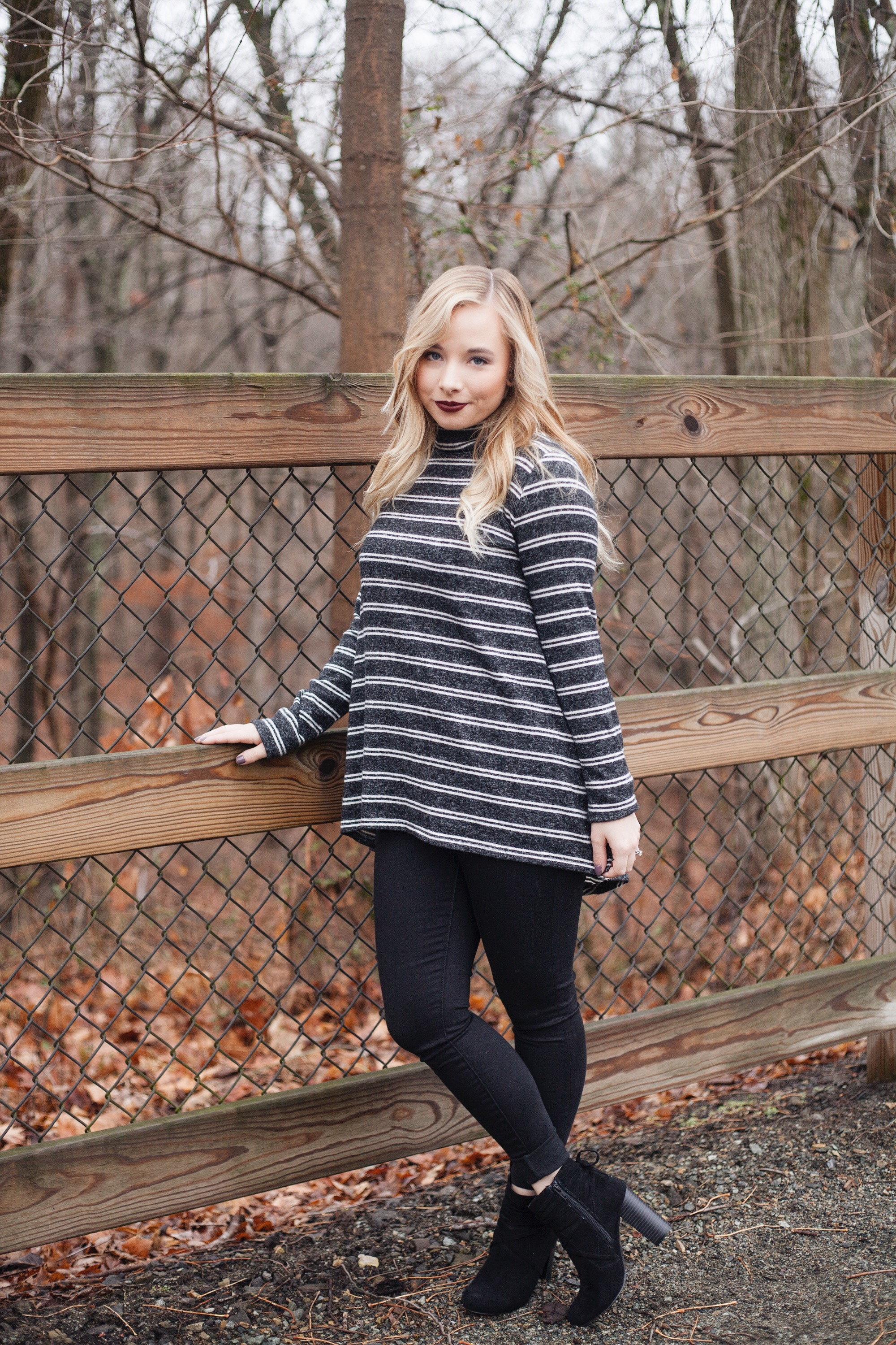 Moody Striped Top | Coffee With Summer