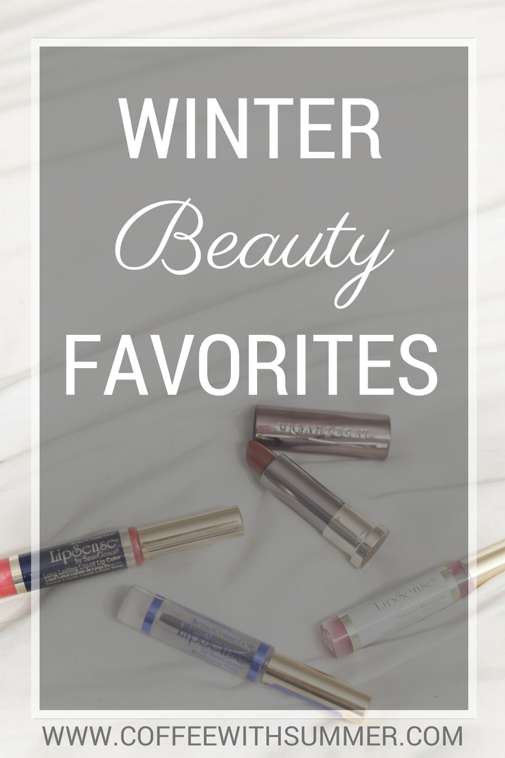 Winter Beauty Favorites | Coffee With Summer