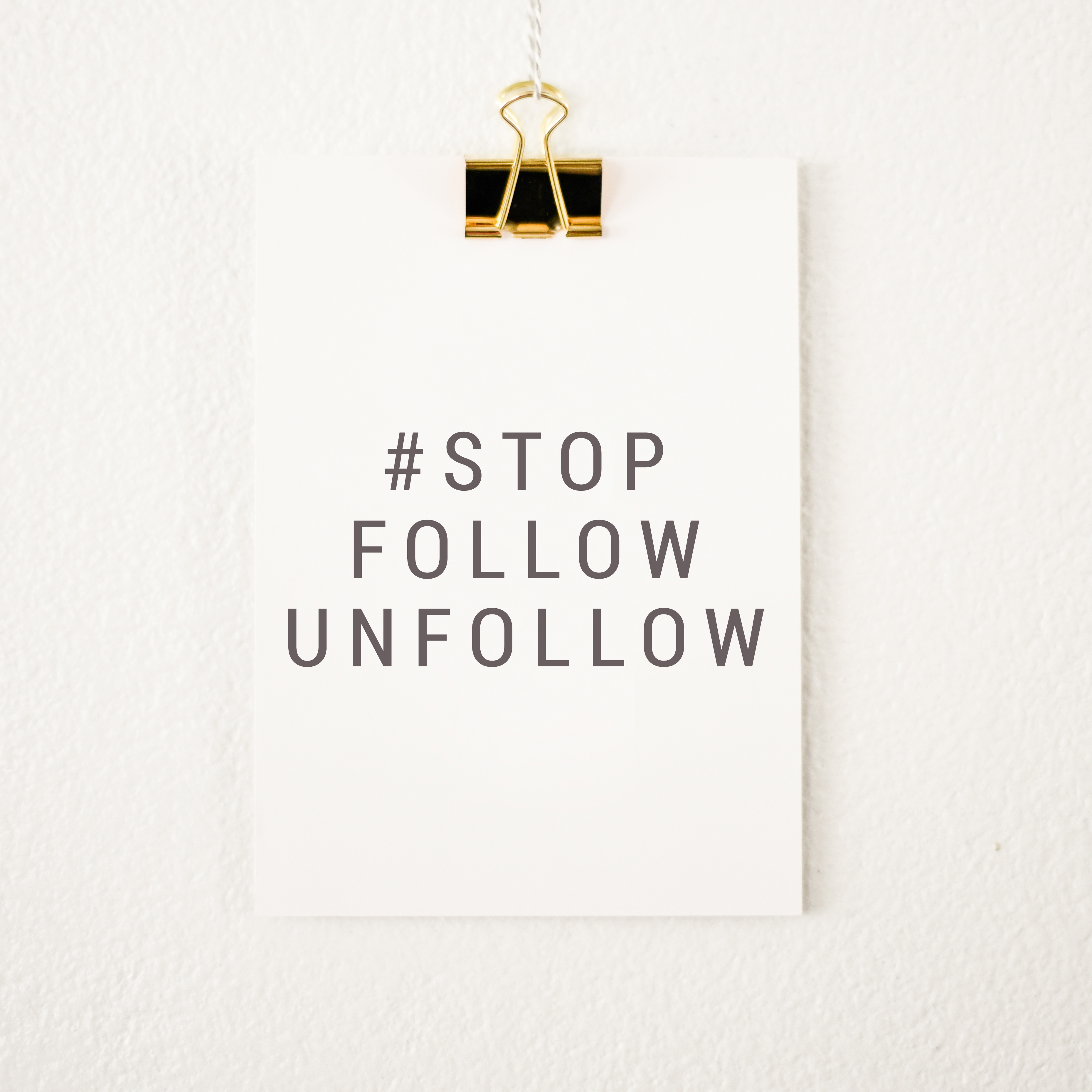 #StopFollowUnfollow | Coffee With Summer