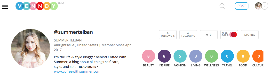 All About VENNDY: A New Social Platform   Coffee With Summer
