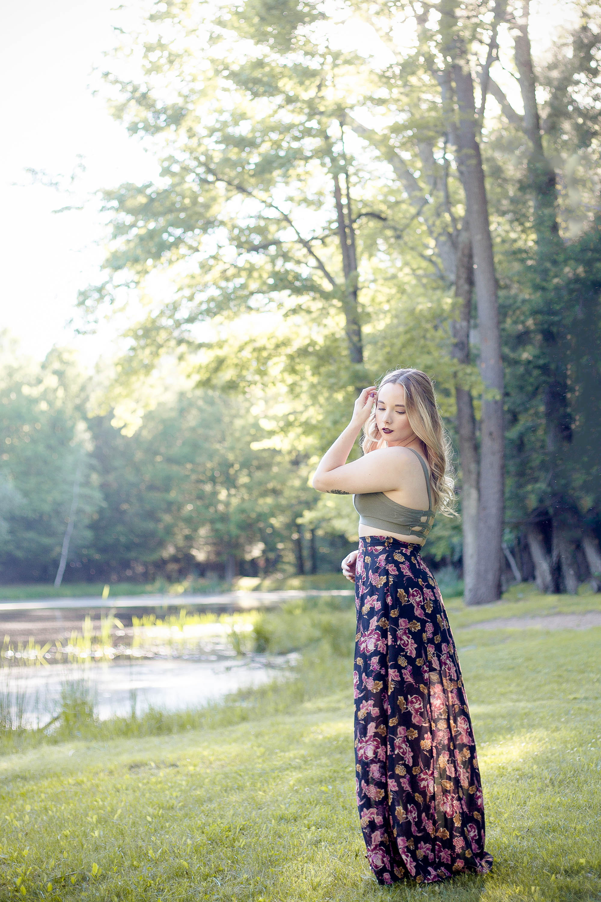 How To Wear A Maxi Skirt If You're Short | Coffee With Summer