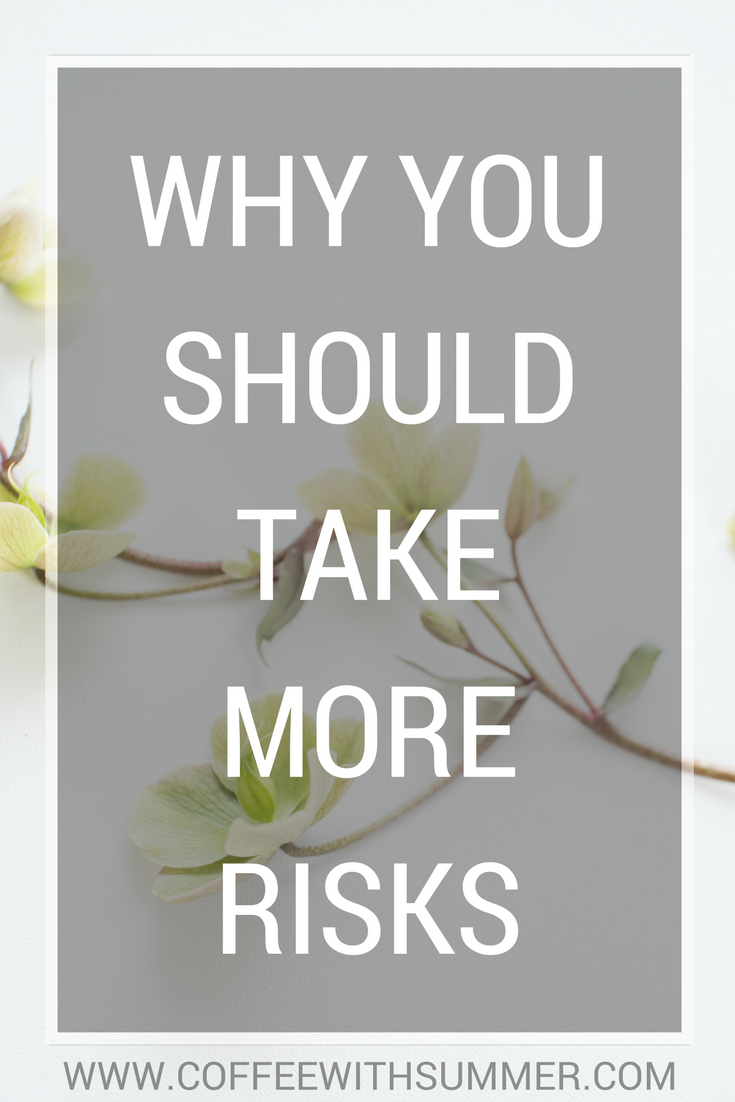 Why You Should Take More Risks | Coffee With Summer