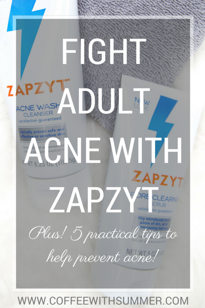 Fight Adult Acne With ZapZyt | Coffee With Summer