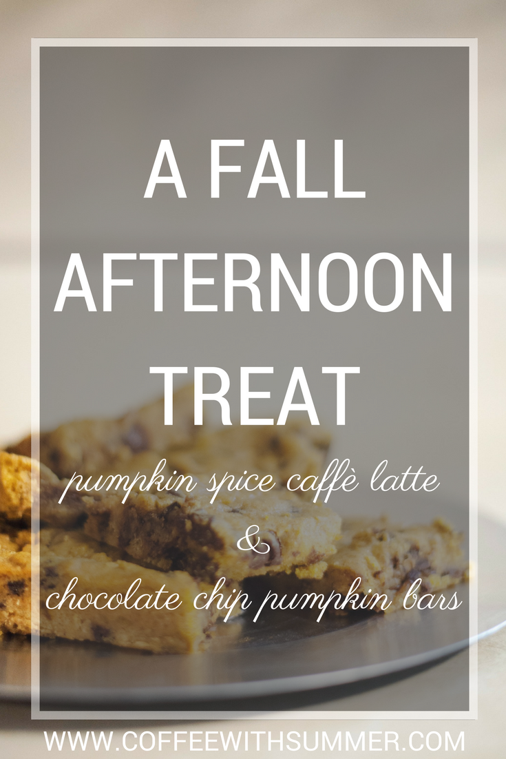A Fall Afternoon Treat | Coffee With Summer