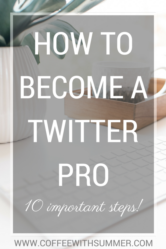 How To Become A Twitter Pro | Coffee With Summer
