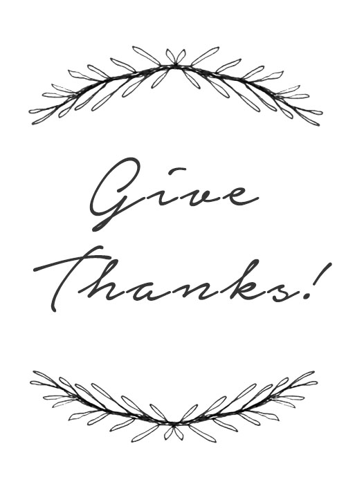 Thankful Musings