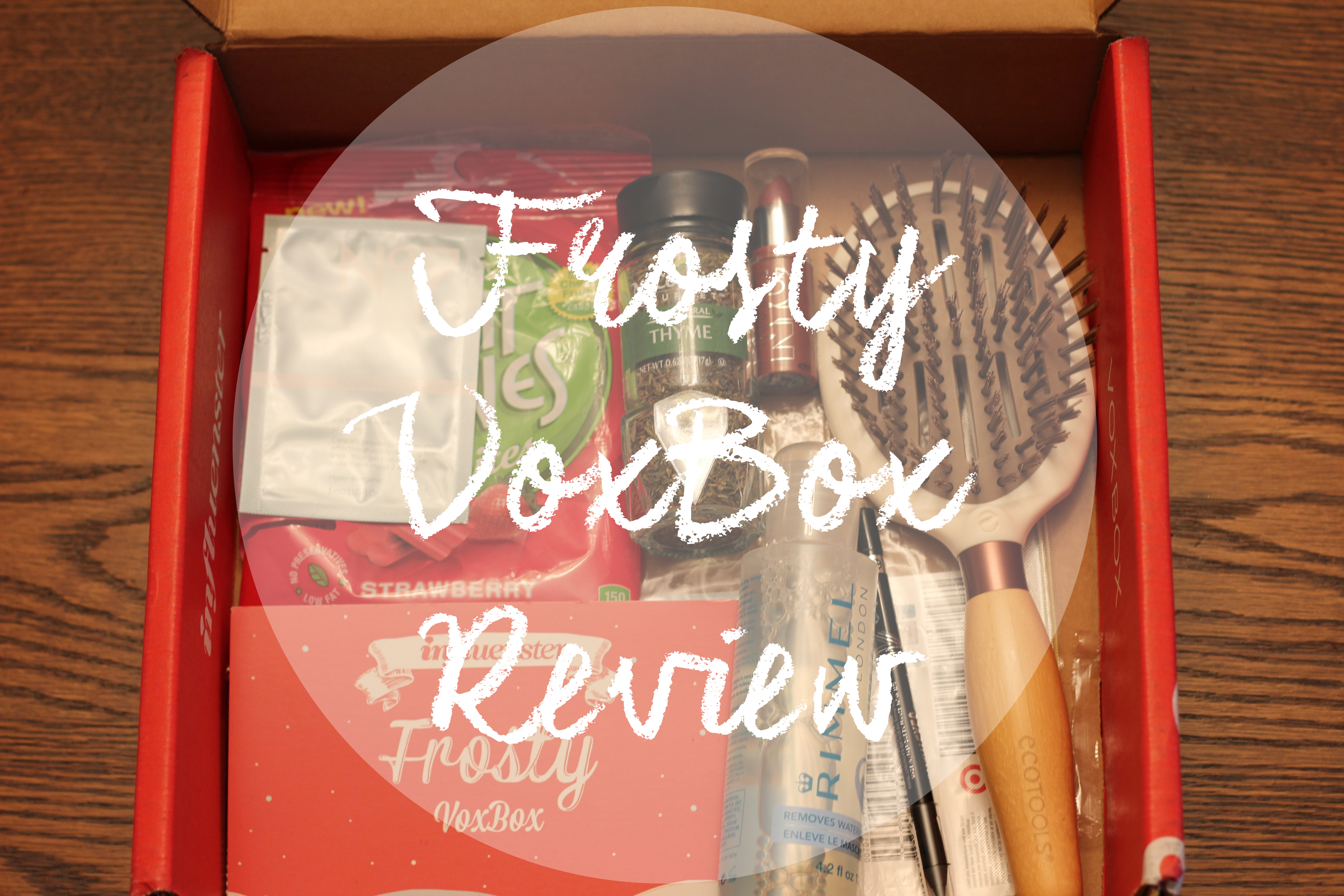 Frosty VoxBox Review (Influenster)