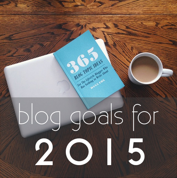 Coffee With Summer's Blog Goals for 2015