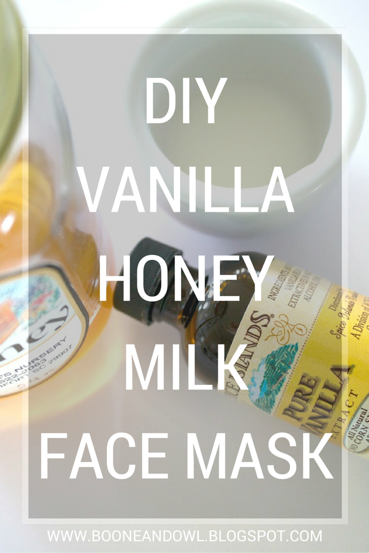 DIY Vanilla Honey Milk Face Mask // A Guest Post