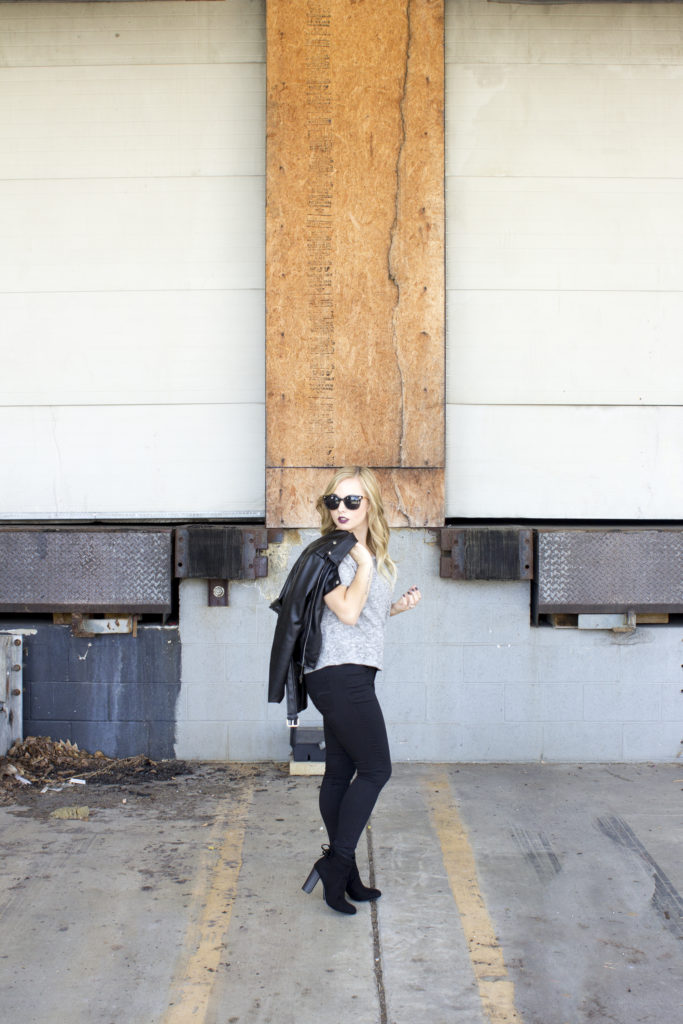 Edgy Rocker Chic Style - Coffee With Summer