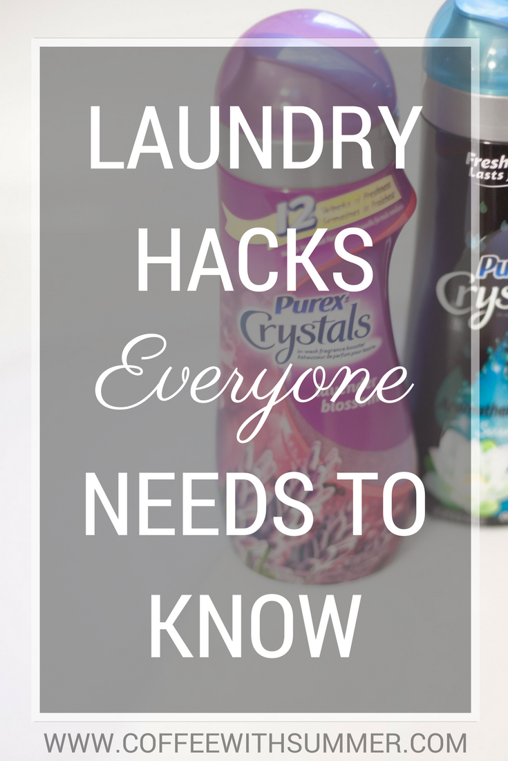 Laundry Hacks Everyone Needs To Know   Coffee With Summer