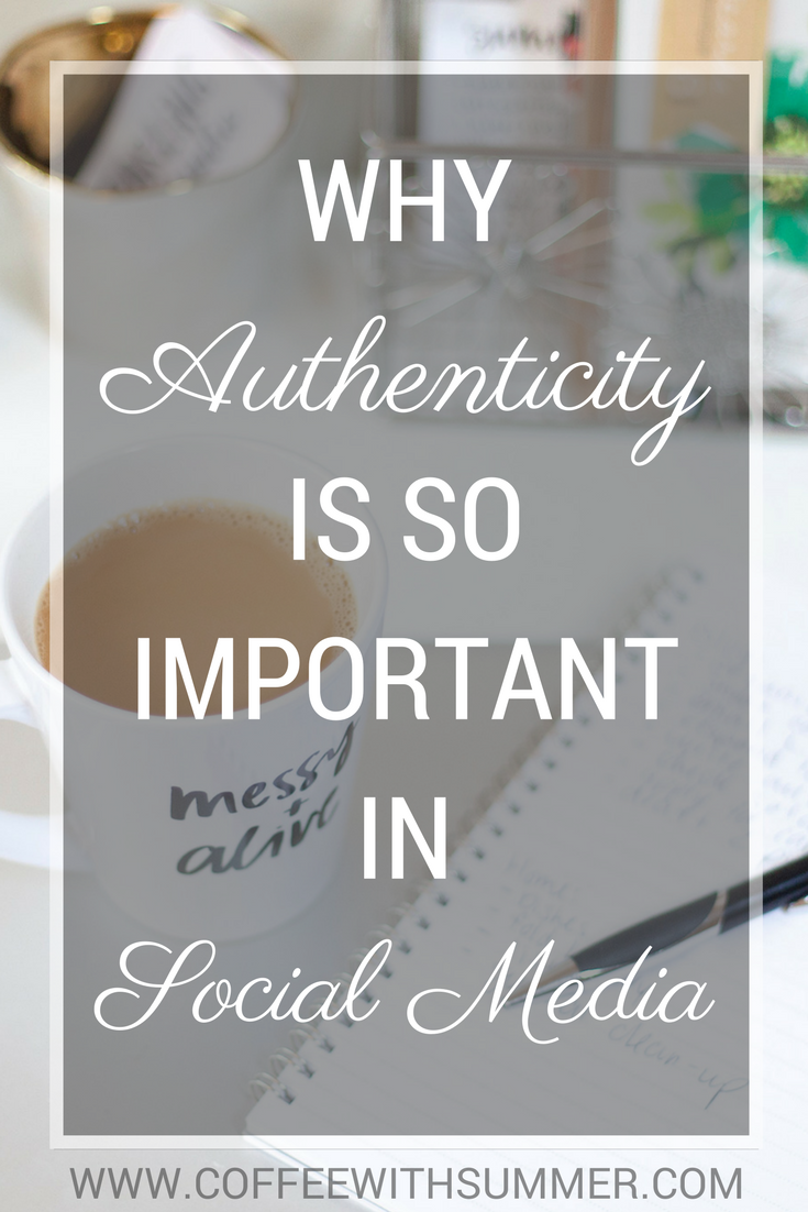 Why Authenticity Is So Important In Social Media | Coffee With Summer