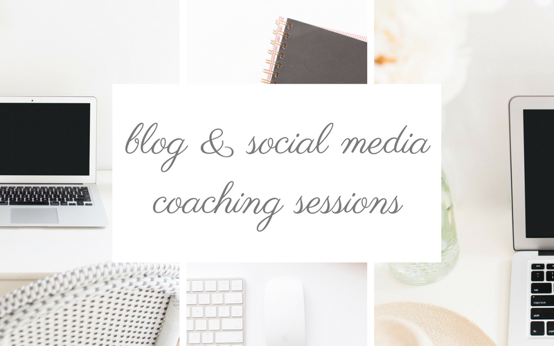 Blog & Social Media Coaching | Coffee With Summer