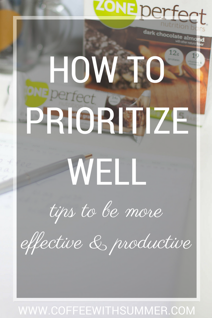 How To Prioritize Well | Coffee With Summer