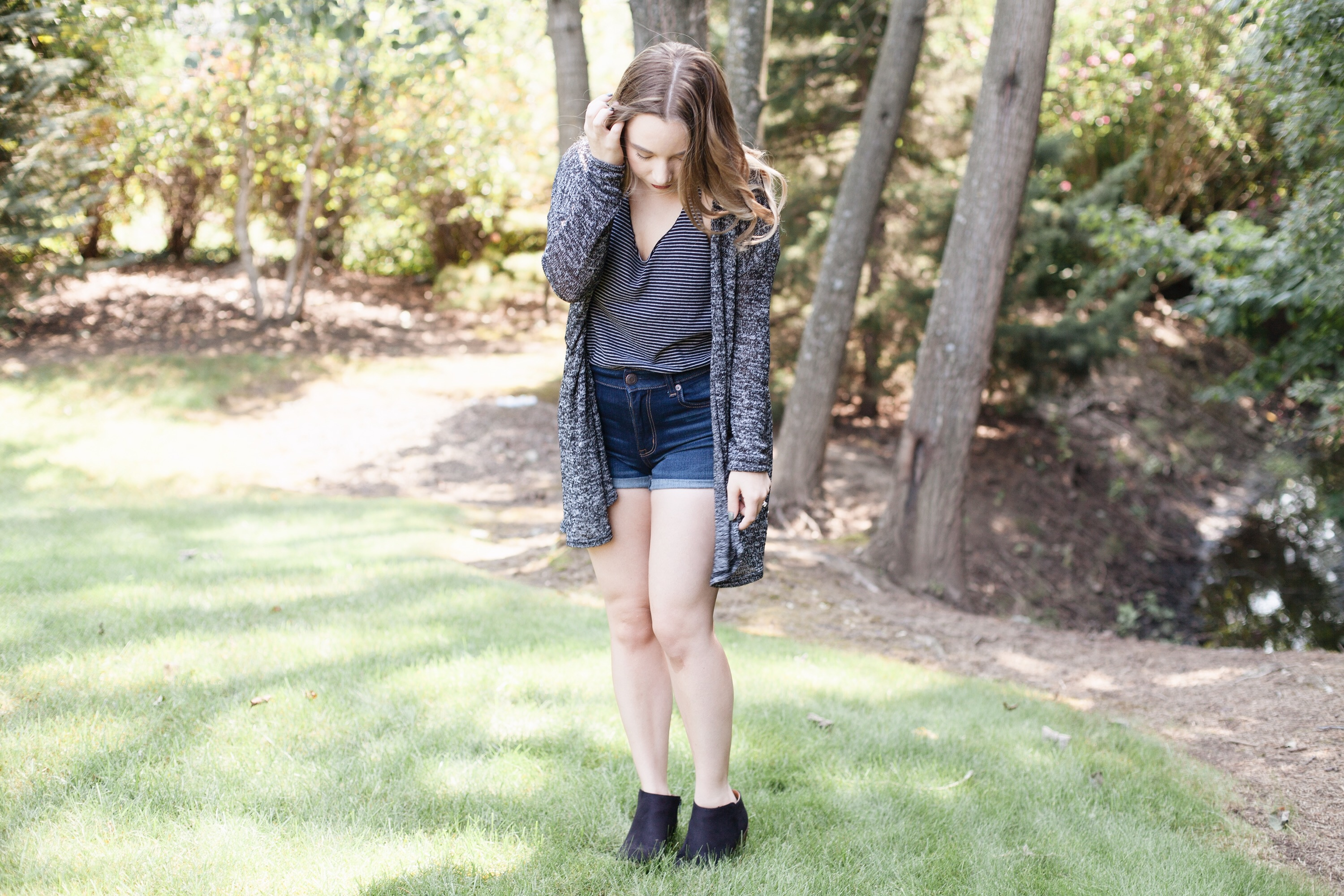 Summer To Fall Transition Outfit | Coffee With Summer