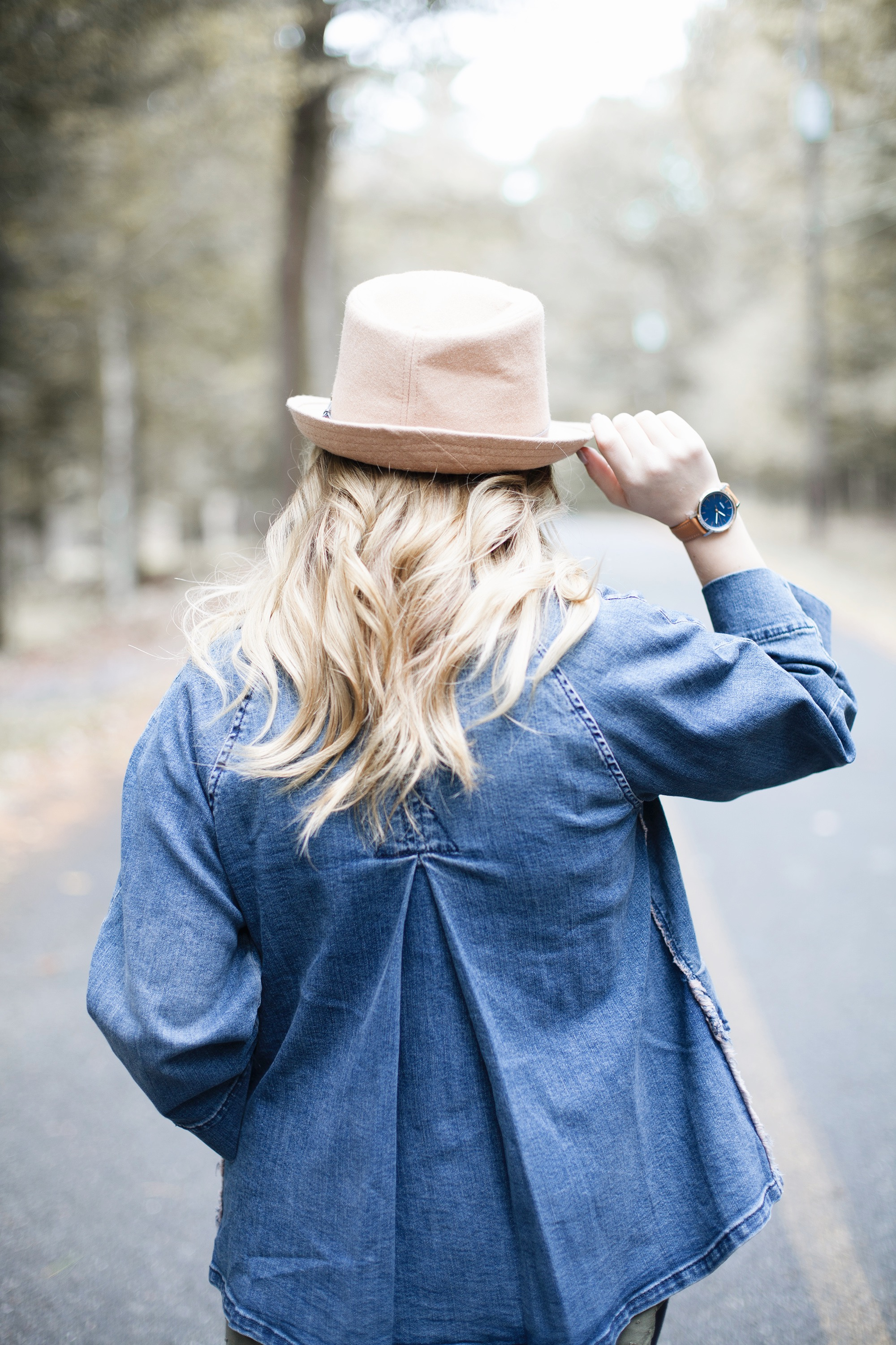 Oversized Denim Jacket Outfit | Coffee With Summer