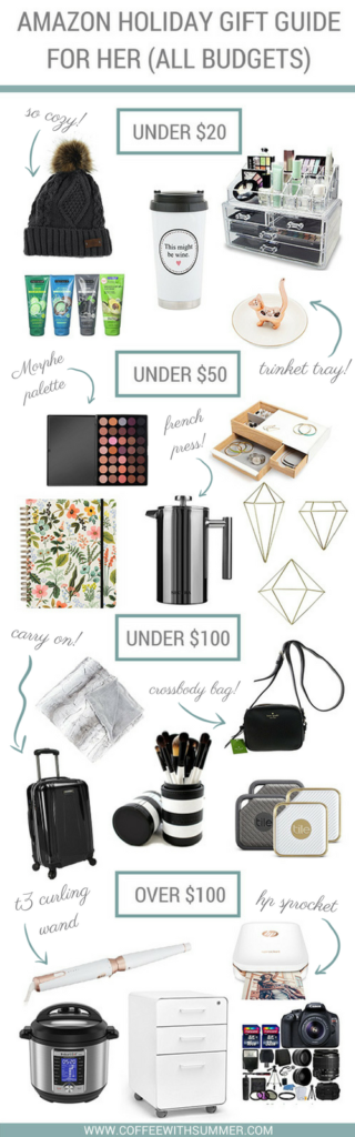 Amazon Gift Guide For Her | Coffee With Summer