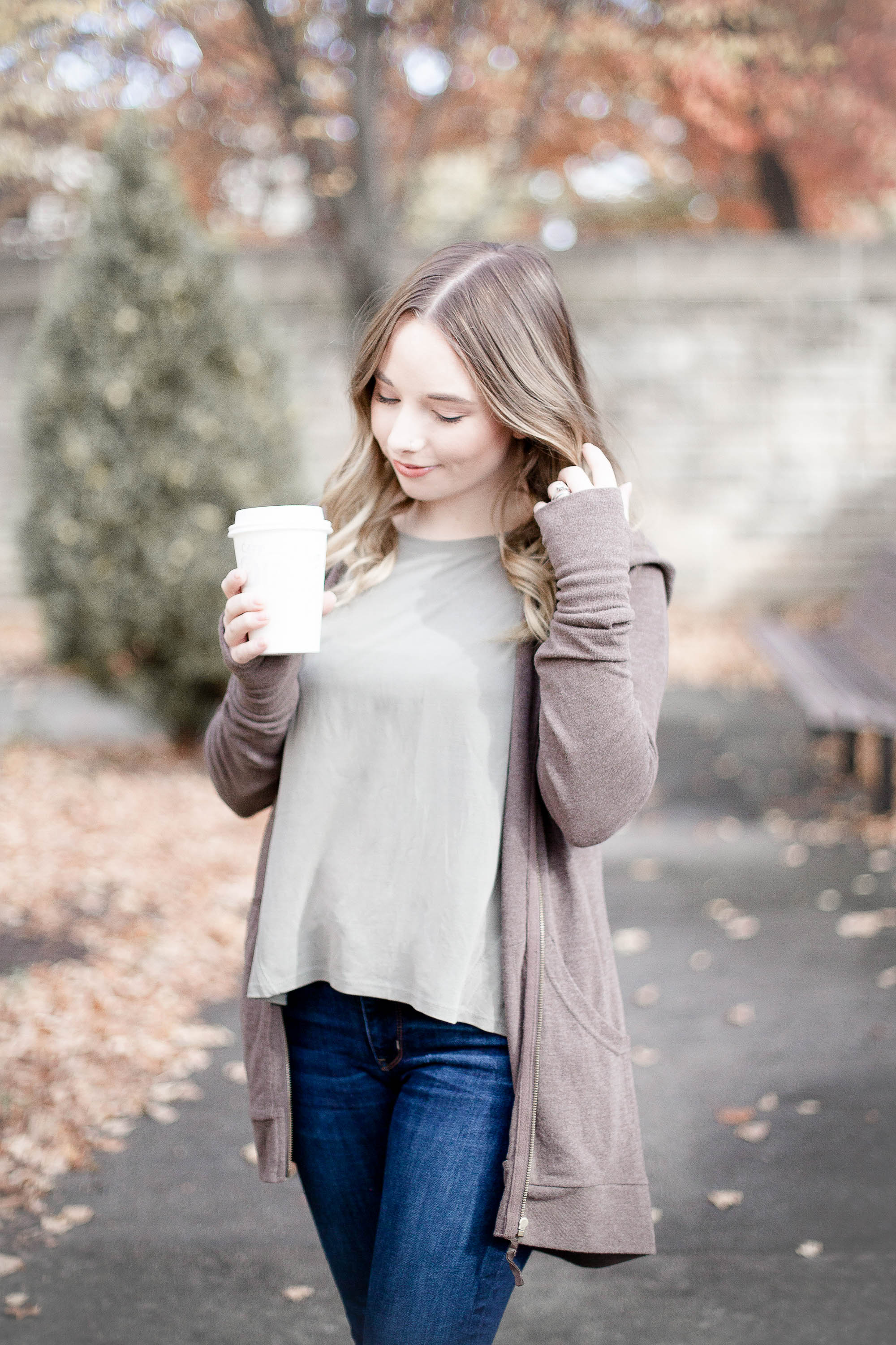 Casual Fall Outfit | Coffee With Summer