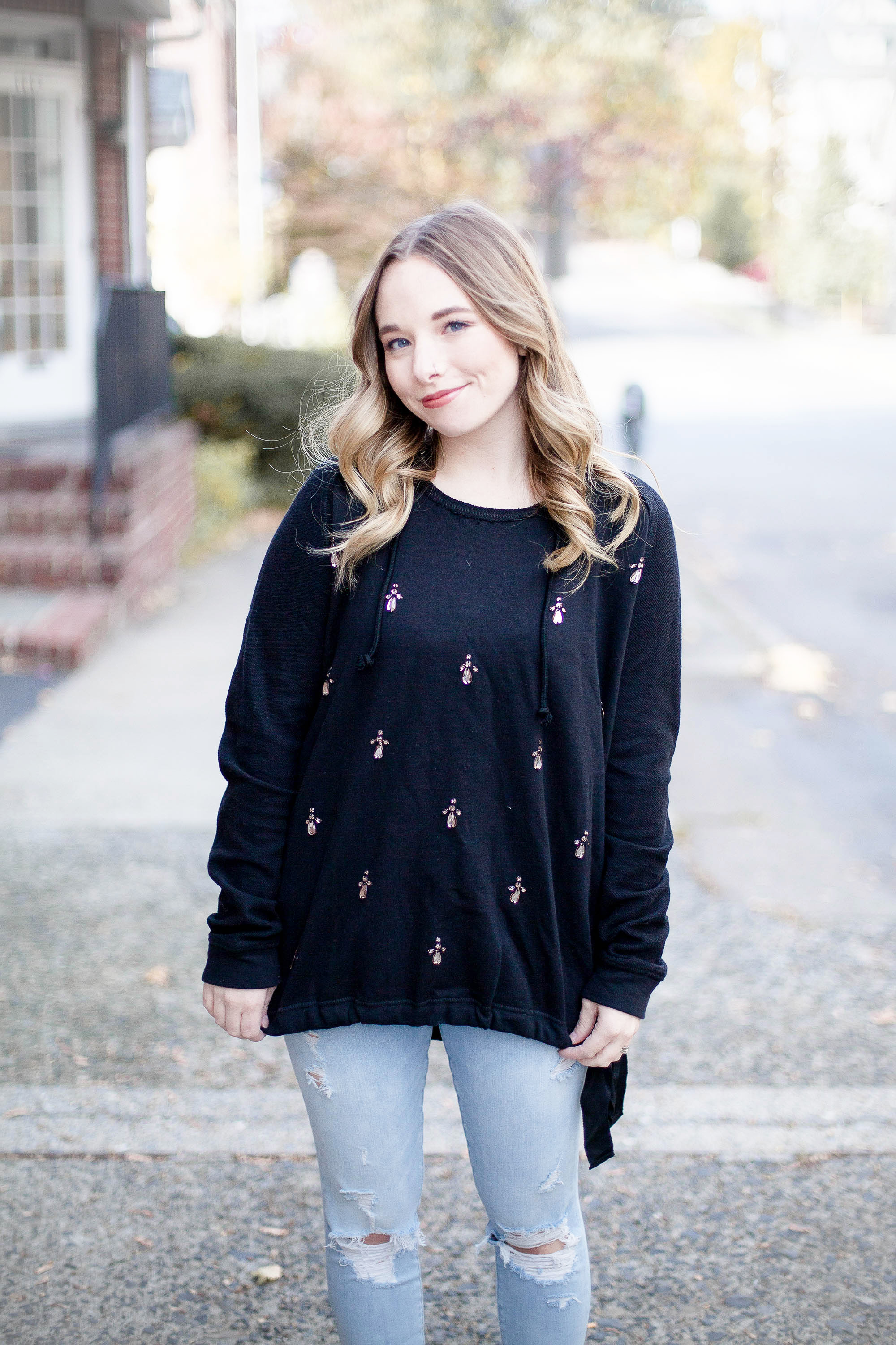 Casual Black Sweater | Coffee With Summer