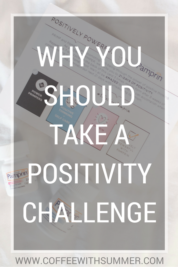 Why You Should Take A Positivity Challenge | Coffee With Summer