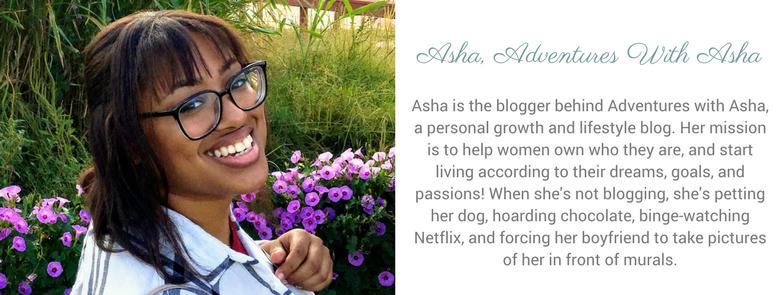 Asha, Adventures With Asha