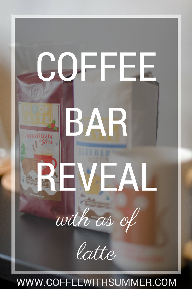 Coffee Bar Reveal | Coffee With Summer