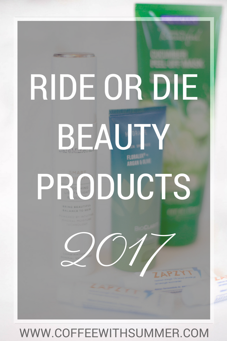Ride Or Die Beauty Products 2017