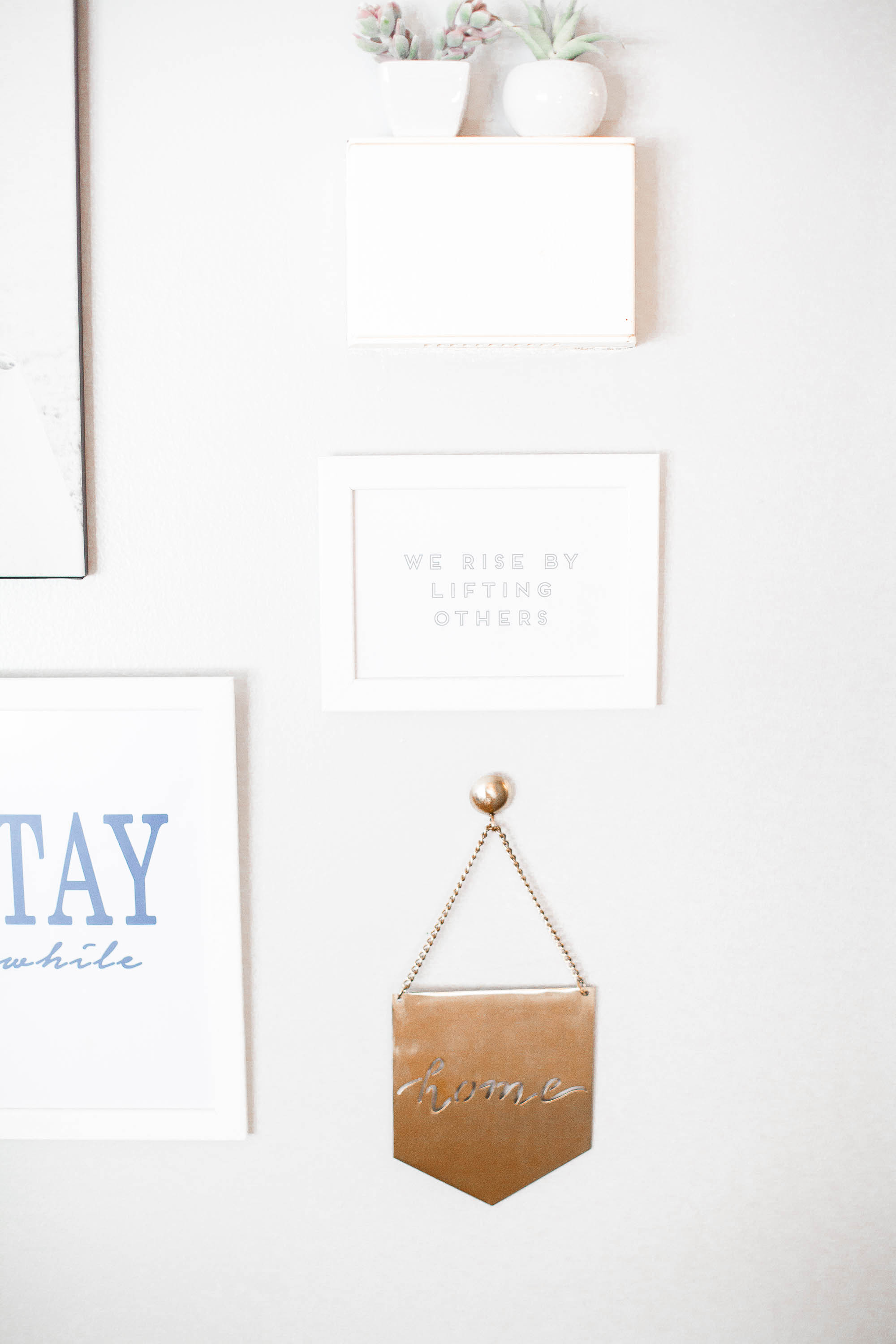 Entryway Wall Decor | Coffee With Summer