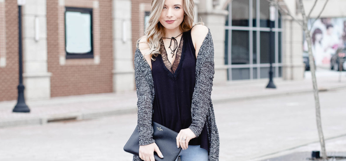 Edgy & Sassy Valentine's Day Outfit