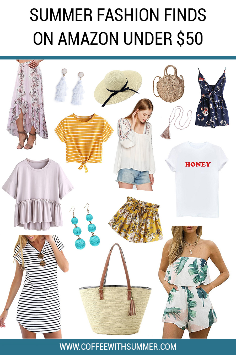Summer Fashion on Amazon Under $50 | Amazon Fashion | Summer Style | Summer Fashion