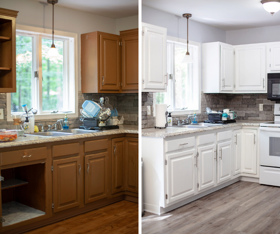 Cabinet & Flooring Update: Before & After
