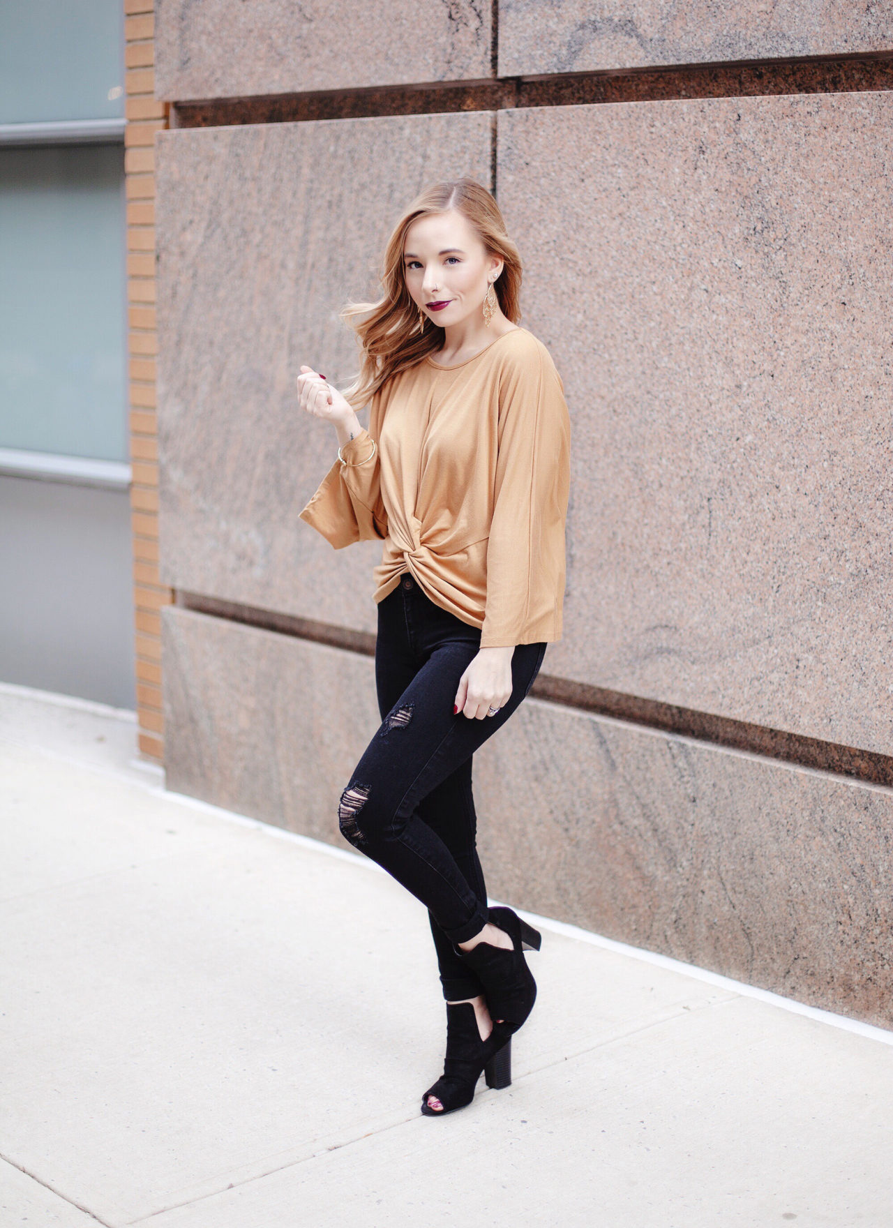 Edgy Outfit For Fall