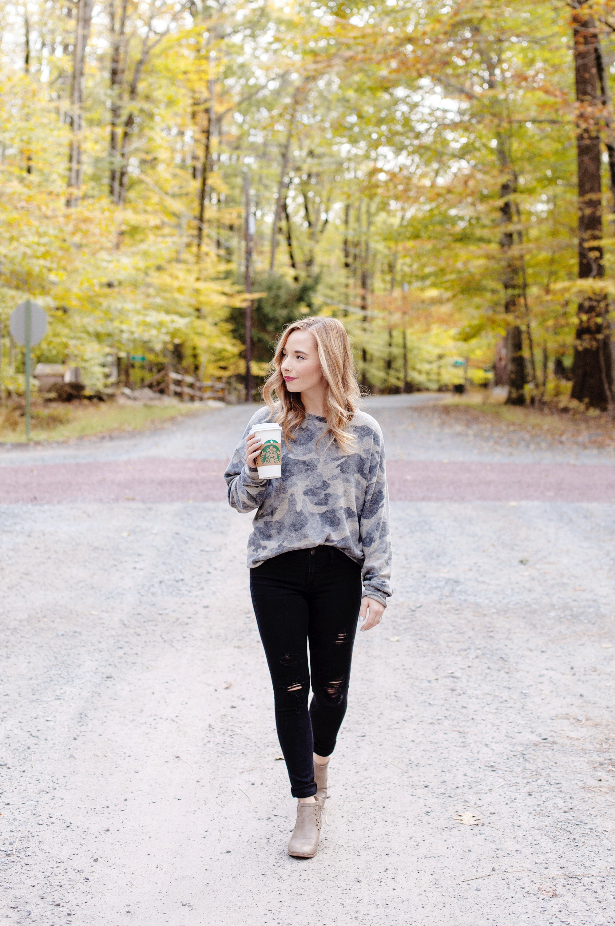 Camo Sweatshirt Outfit
