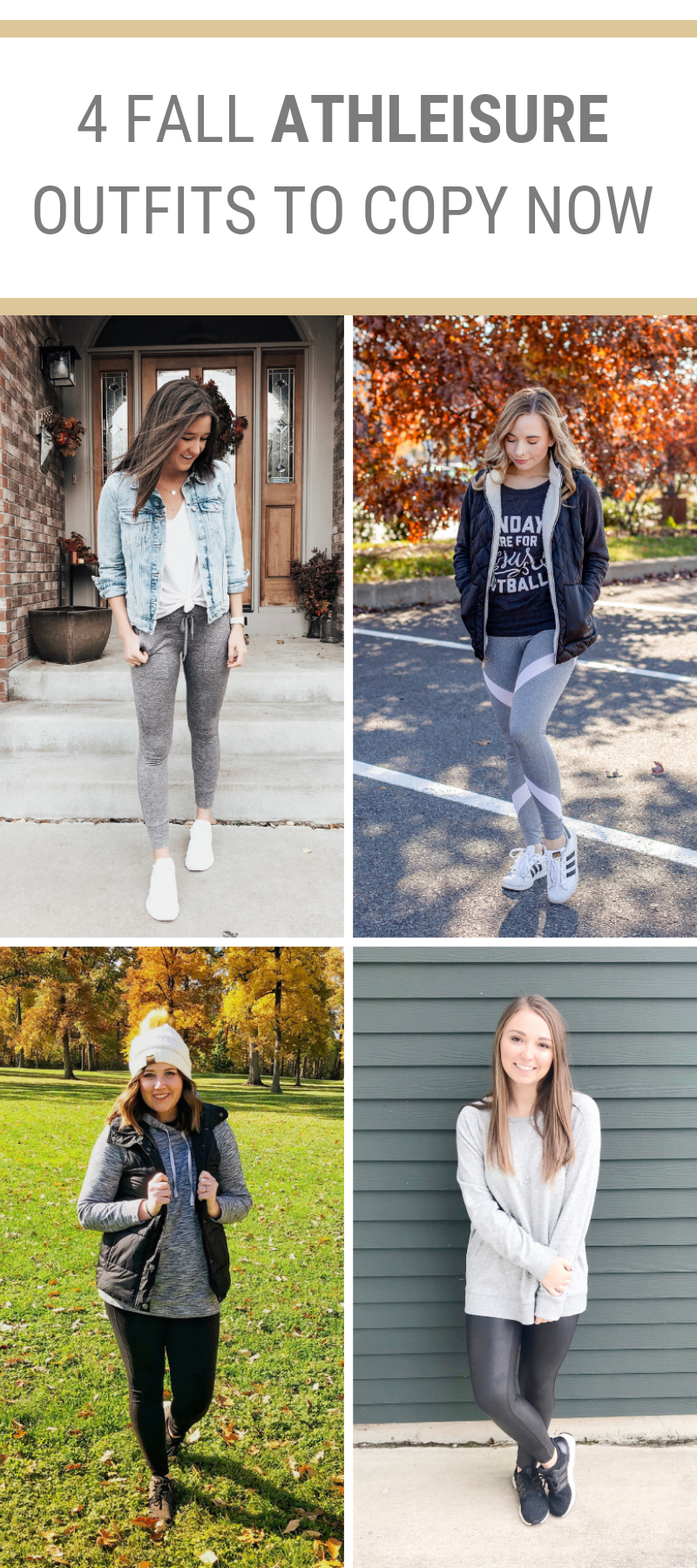 4 Fall Athleisure Outfits To Copy Now