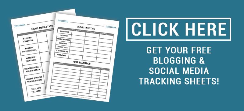 Blog Tracking Printables