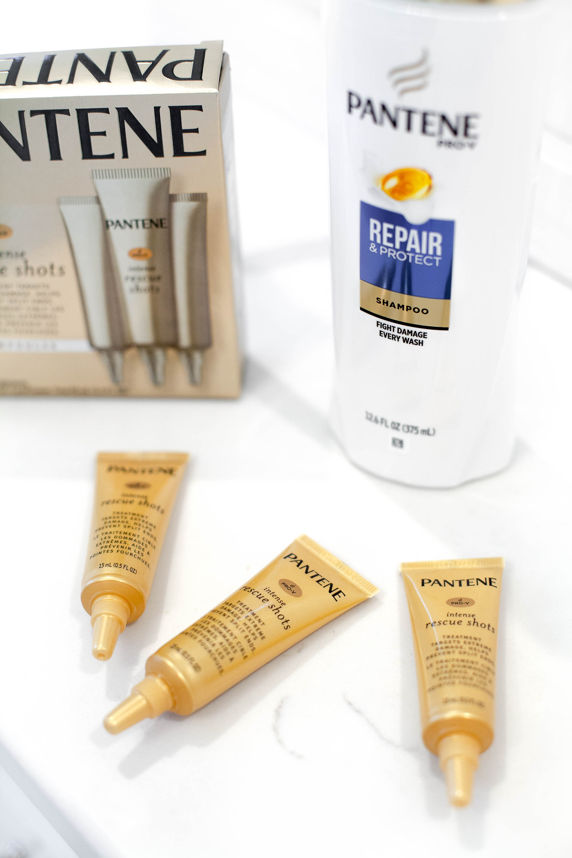 Caring For My Hair With Pantene Rescue Shots