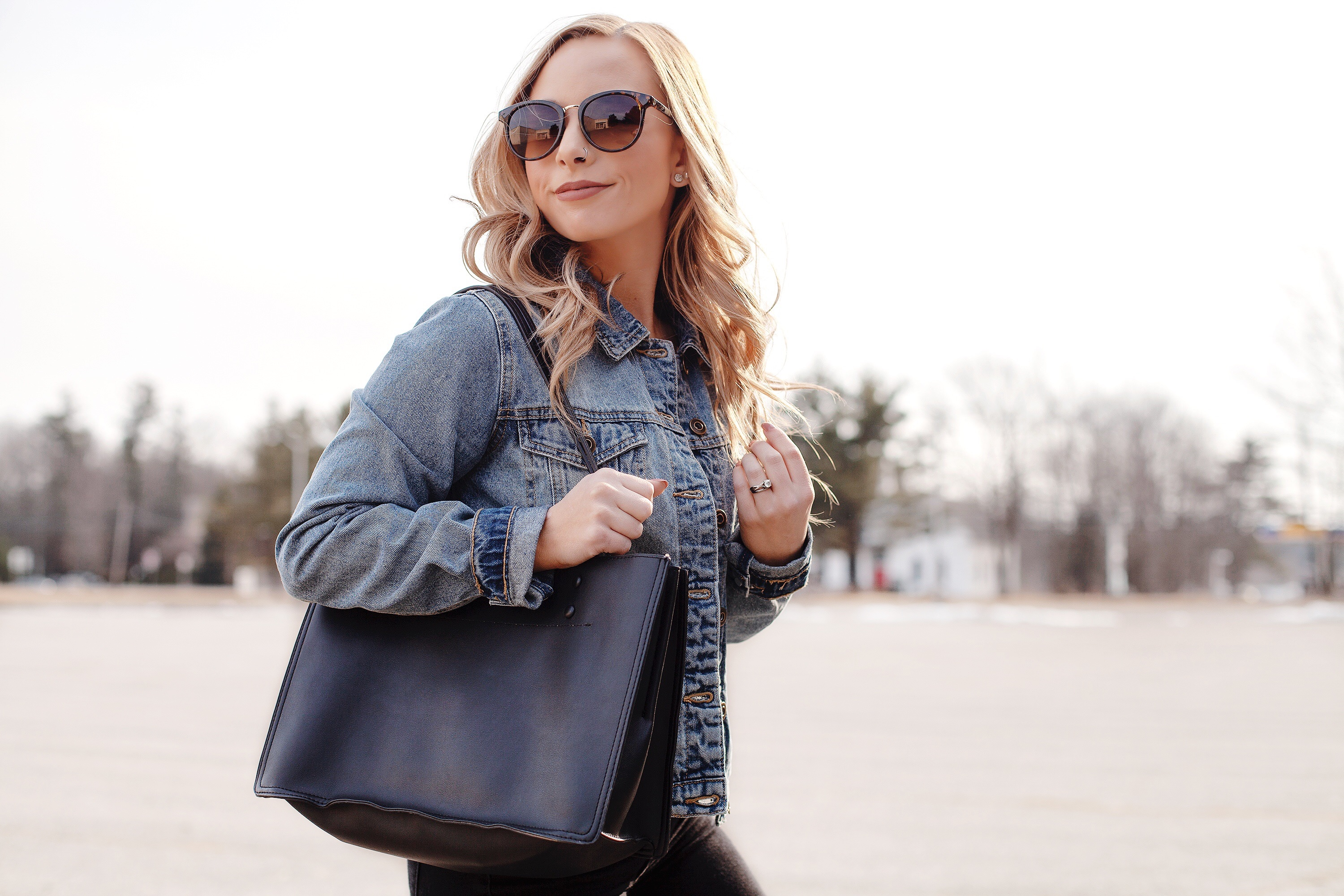 The Casual Winter To Spring Weekend Outfit You Need