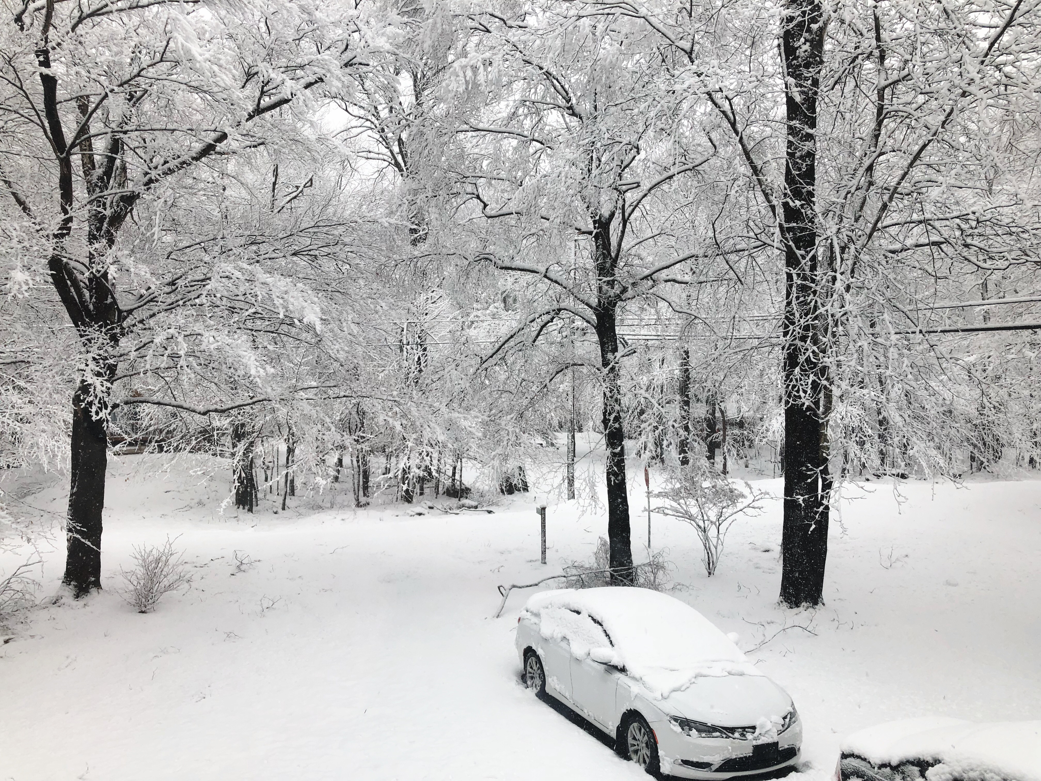 Winter in the Poconos
