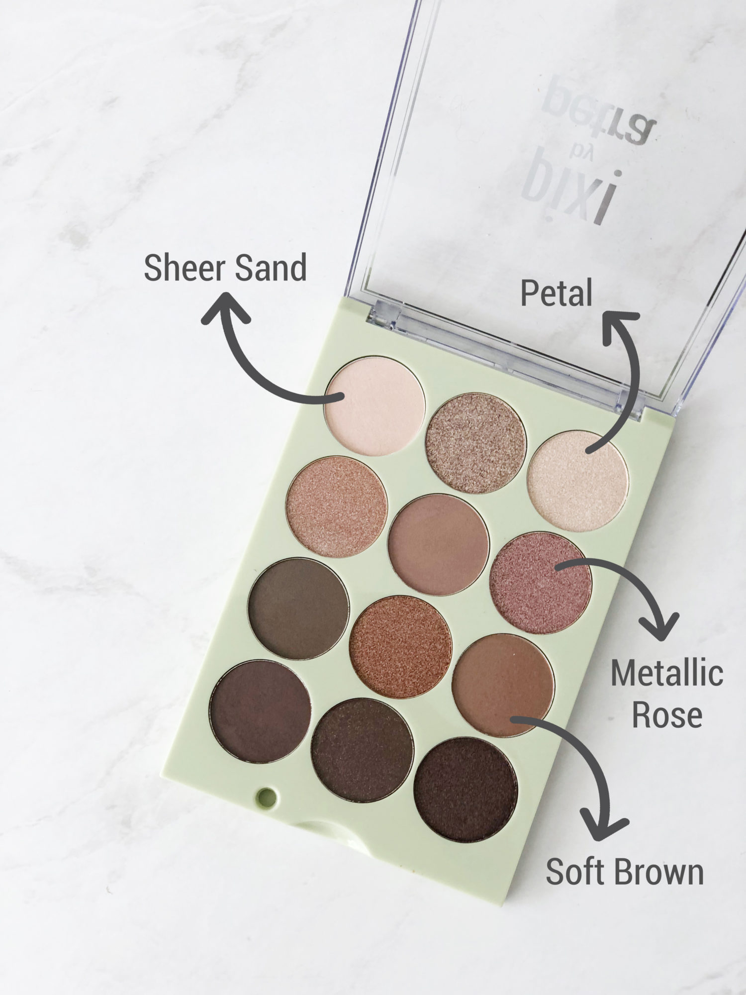Pixi Eyeshadow Palette Natural Beauty