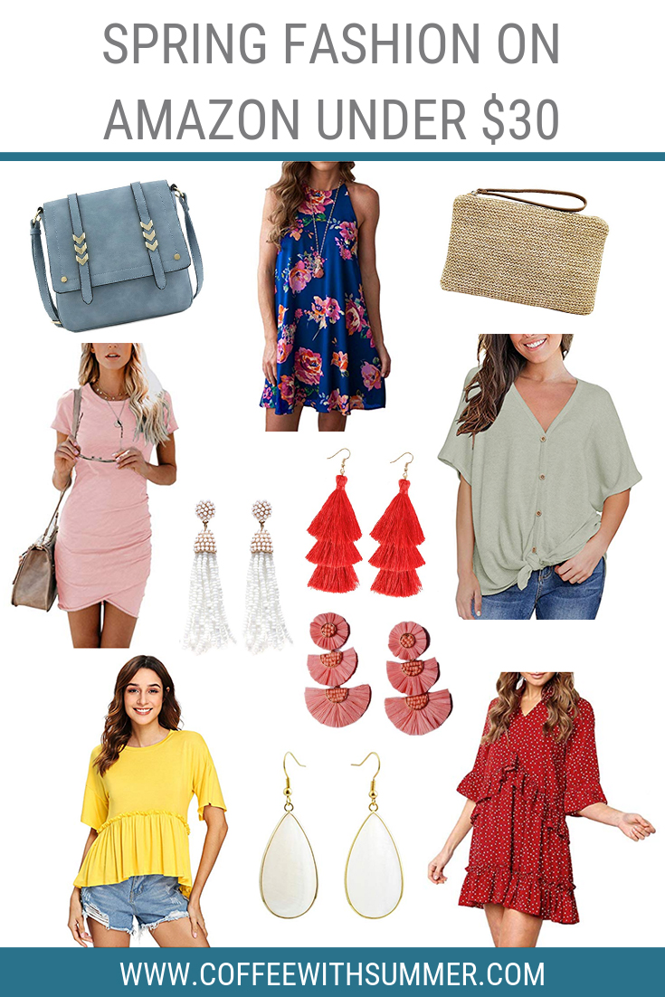 Spring Fashion On Amazon Under $30