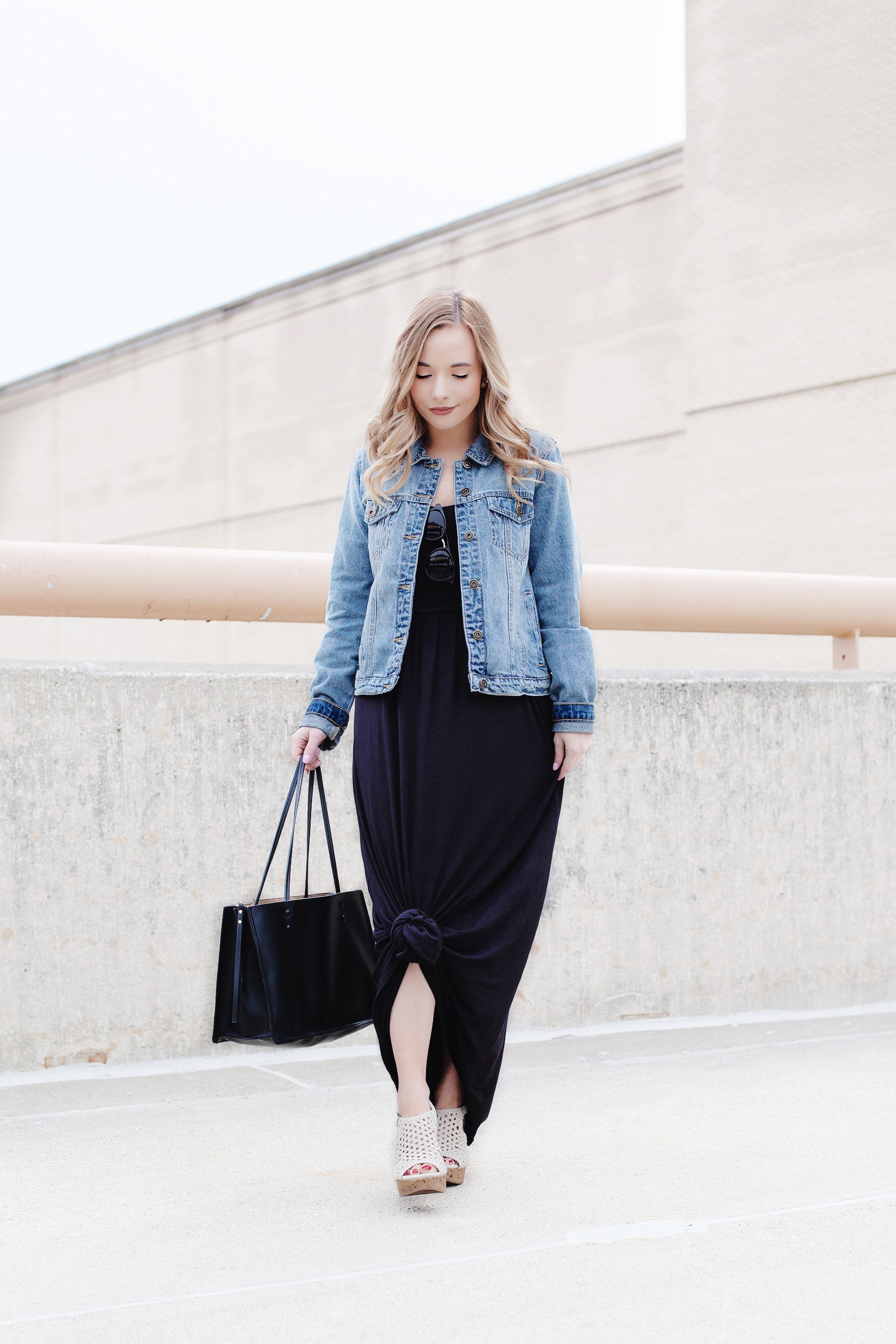 How To Wear A Maxi Dress When You're Short