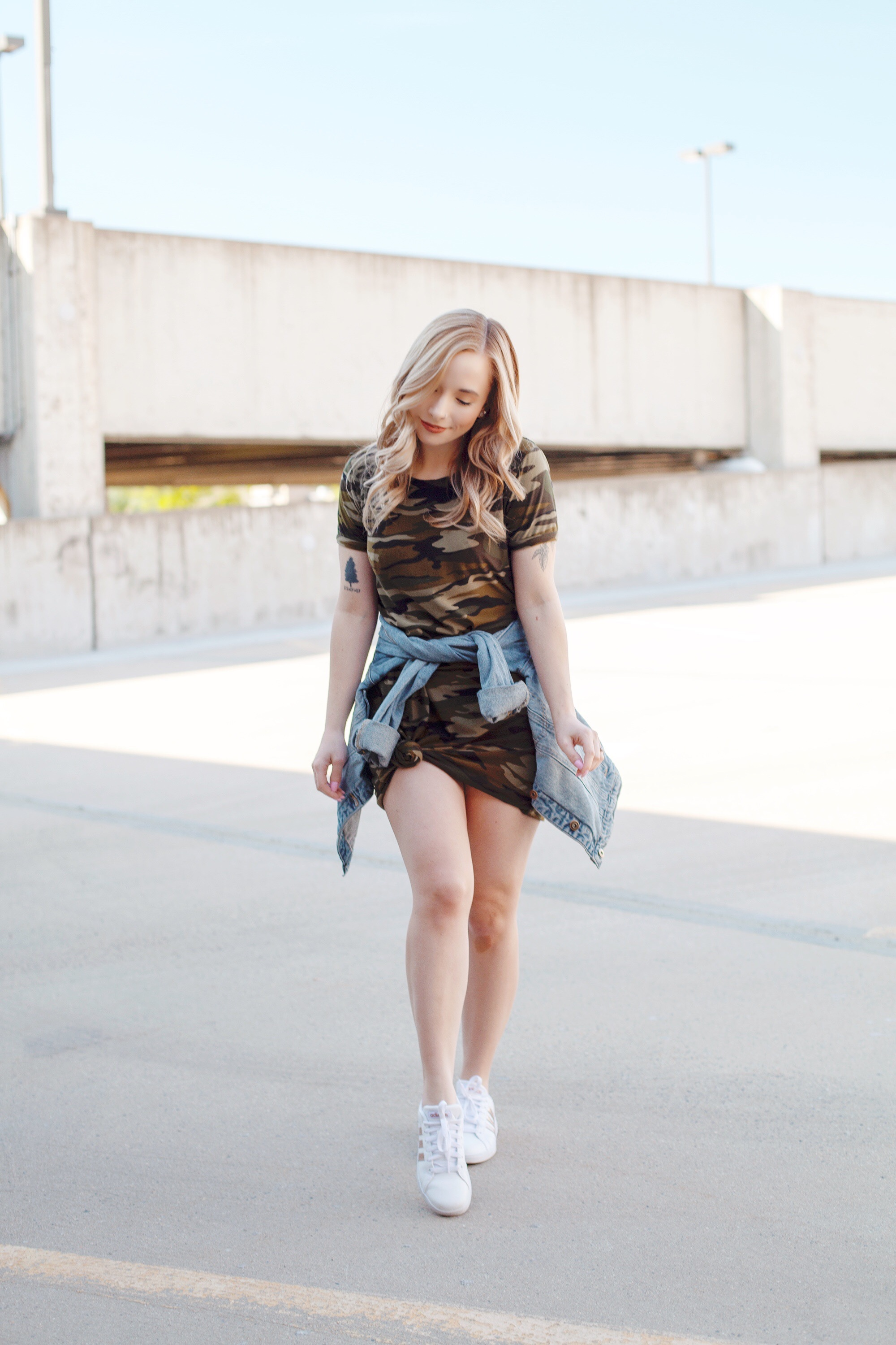 The Best Camo T-Shirt Dress on Amazon
