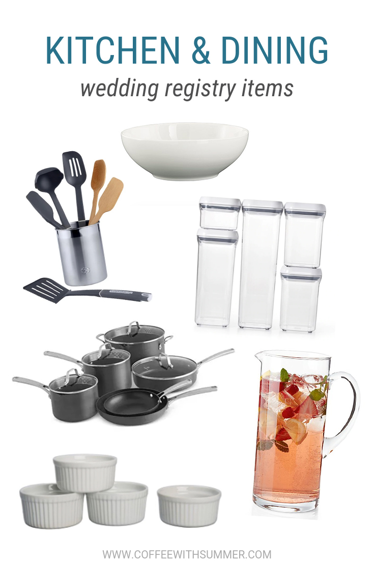 Kitchen Wedding Registry