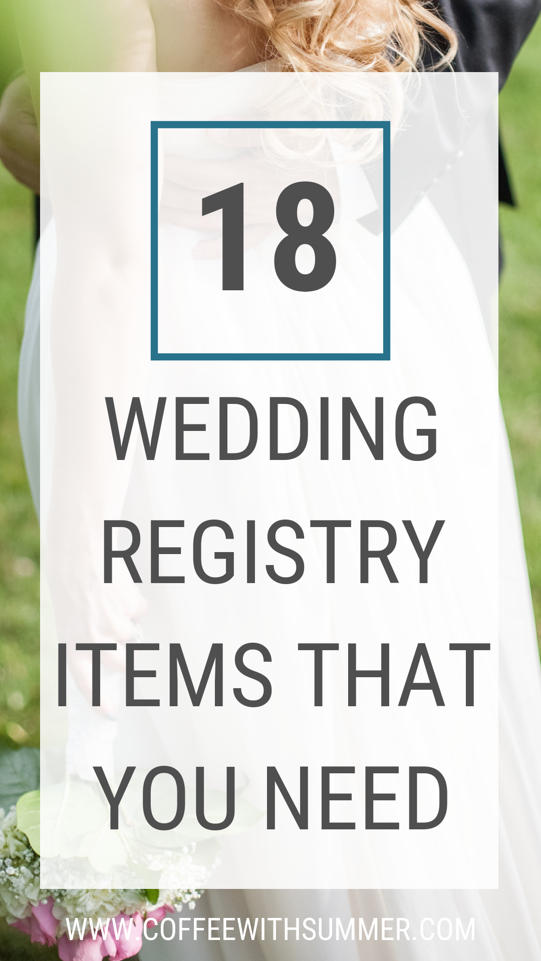 18 Wedding Registry Items That You Need