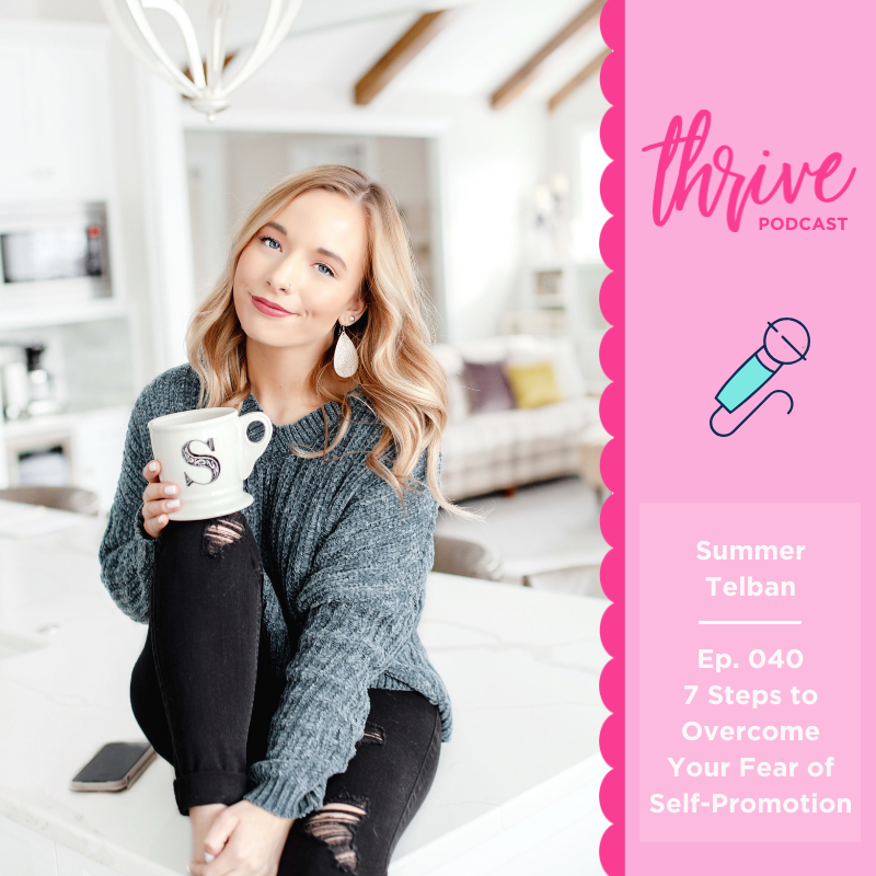 Summer Telban, Thrive Blogger Podcast